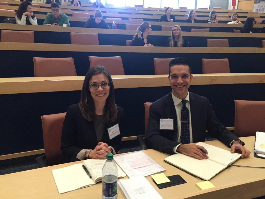 Brooklyn Law School, winner of the American Regional Round, organized by Pace University